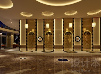 酒店室内设计模型下载
