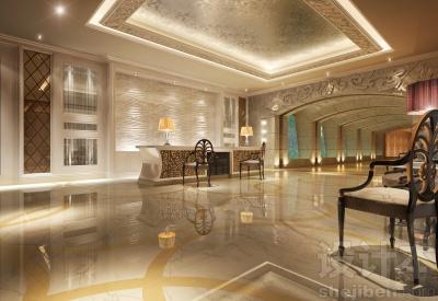 酒店室内设计3D模型