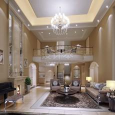 欧式风格客厅3d模型下载