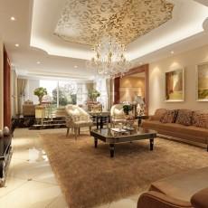 现代风格客厅3d模型下载