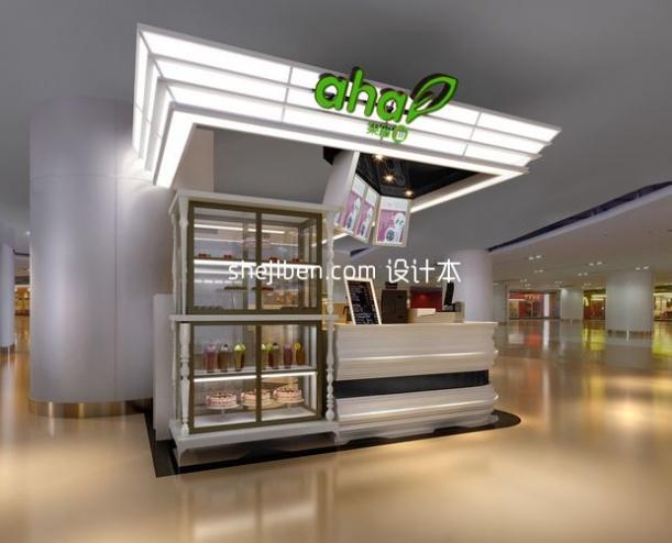 果留仙小型展厅3d模型