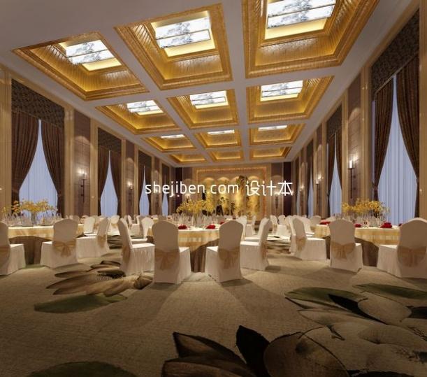 大餐厅3d模型免费下载