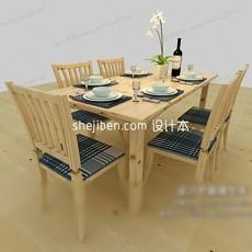 桌子3d模型下载
