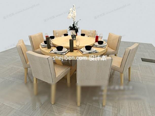 宴会厅餐桌