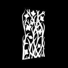 花草树状隔断免费网3d模型下载