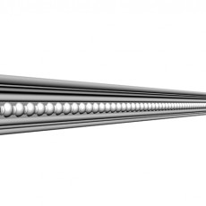龙骨状欧式石膏线构件免费3d模型下载