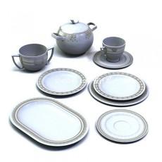边框型欧式茶碟3d模型下载