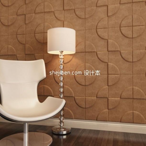 休闲软装3d室内设计家具模型素材