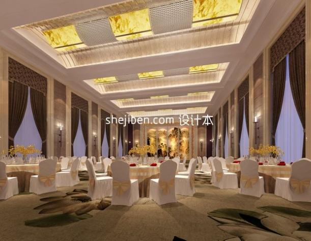 大型餐饮3d模型下载网