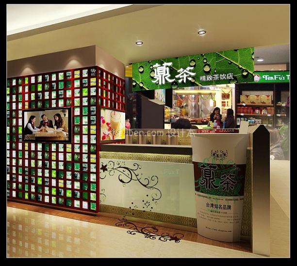 精致茶饮店3d模型下载网站