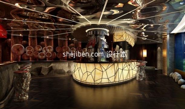 酒吧设计3d模型库免费下载网