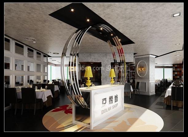 豆捞坊大型餐饮3d模型免费下载网站