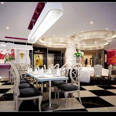 餐厅设计3d模型下载