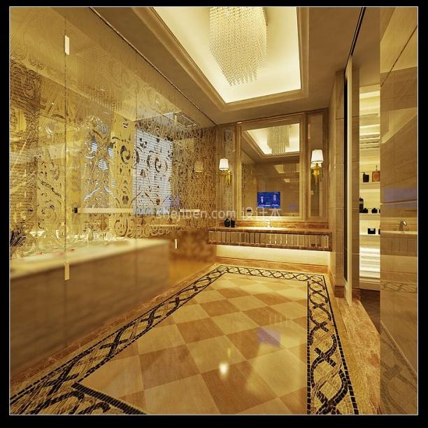卫浴展厅3d模型下载