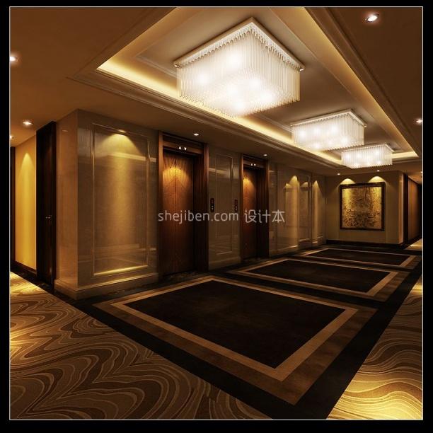 酒店宾馆3d模型免费下载