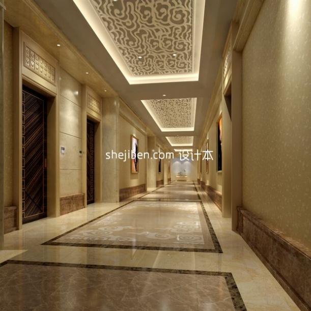 欧式大气酒店3d模型下载网站