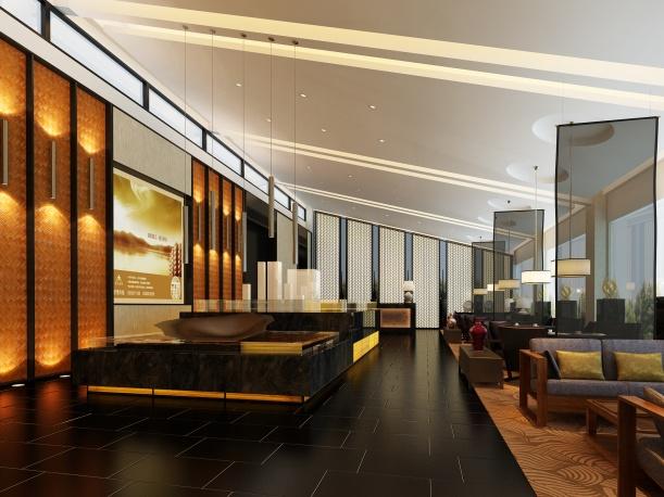 豪华餐饮店3d模型下载网站