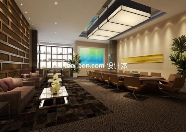 温馨餐厅室内3d模型下载
