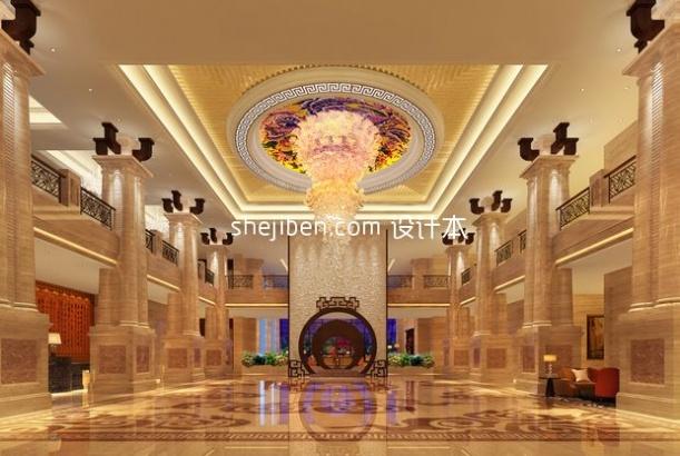 酒店宾馆大厅