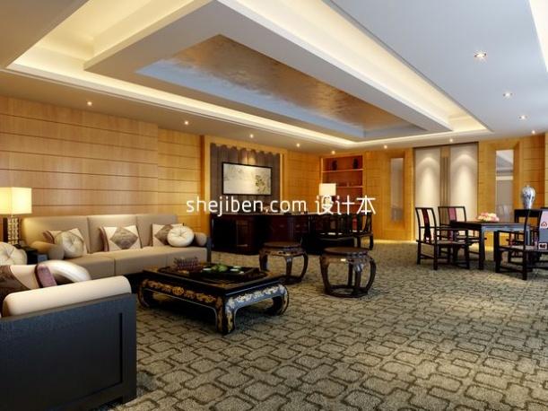 中式客厅3d模型下载网站