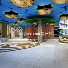 KTV大厅3d模型下载