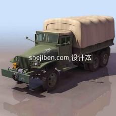 兵器-吉普车-军用卡车3d模型下载
