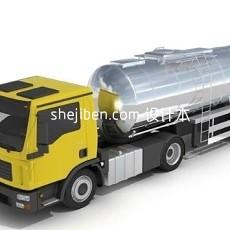 雷诺卡车3d模型下载