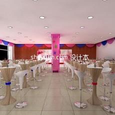 相亲会展厅3d模型下载