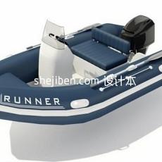 游艇轮船免费3d模型下载