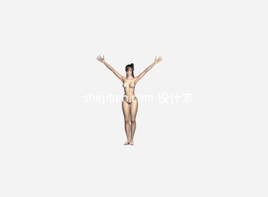 人体人物3d模型下载