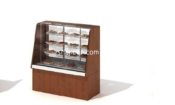 超市货架3D模型4