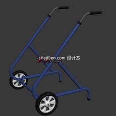 助步车3d模型下载