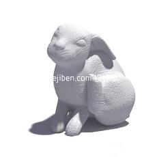 小兔子3d模型下载