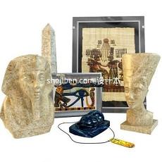雕塑摆设品3d模型下载