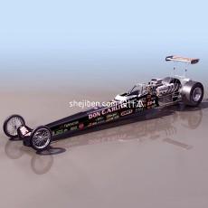 老式F1赛车3d模型下载