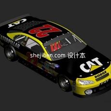 纳斯卡赛车3d模型下载