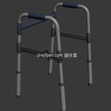 学步杖助步杖3d模型下载