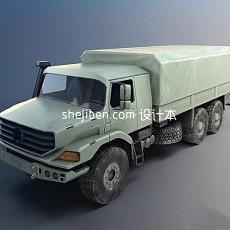 中国军用汽车3d模型下载