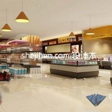 大型超市3d模型下载