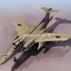 战斗机-飞机素材363d模型下载