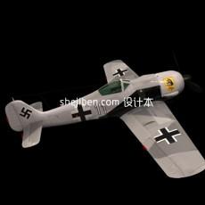 一式战斗机3d模型下载