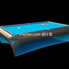 08版本台球桌3d模型下载