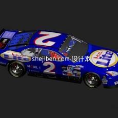 纳斯卡赛车nascar3d模型下载