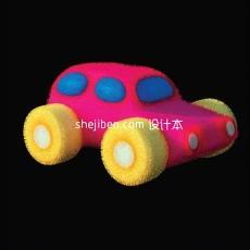 玩具小汽车3d模型下载