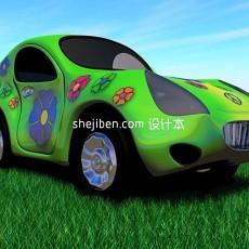 玩具汽车3d模型下载
