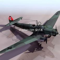 战斗机-战斗机47套3d模型下载