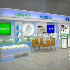 手机展厅3d模型下载