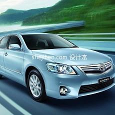 丰田车3d模型下载