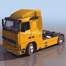 卡车车头3d模型下载