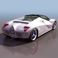 福特gt90跑车3d模型下载